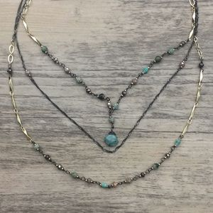 Nakamol 3 Tier Necklace